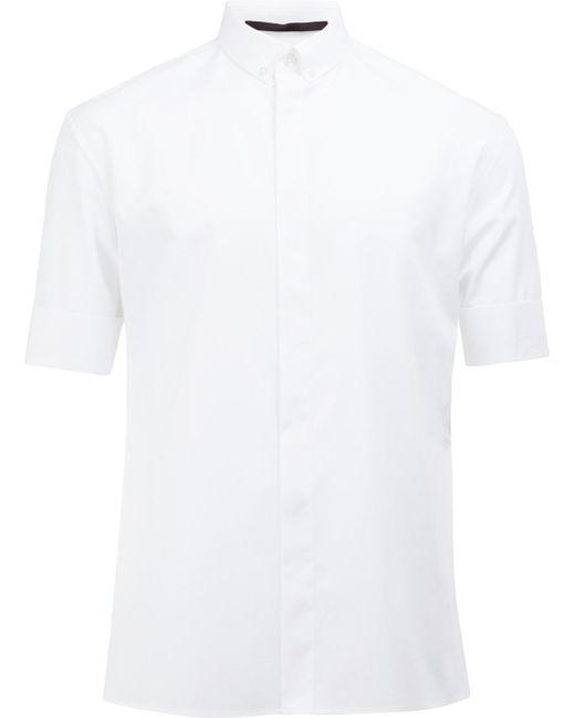 Haider Ackermann | White Short-sleeve Shirt for Men | Lyst