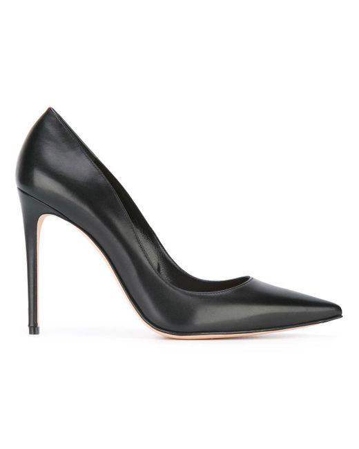 Alexander McQueen   Black Pointed Toe Pumps   Lyst