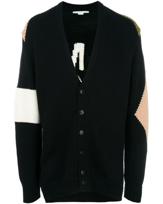 Stella McCartney | Black Tomorrow Knit Cardigan for Men | Lyst