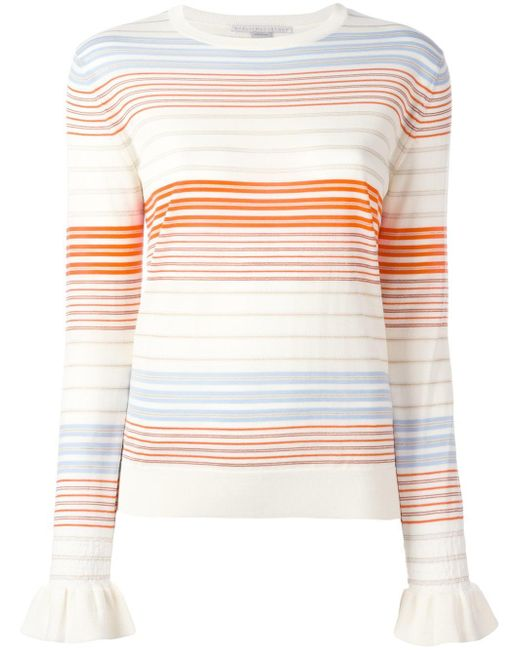 Stella McCartney | Multicolor Ruffled Cuff Jumper | Lyst