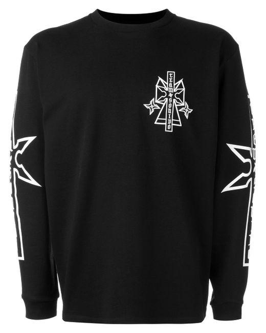 Marcelo Burlon   Black Ramon Sweatshirt for Men   Lyst