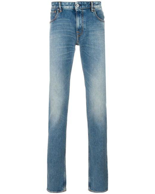 Stone Island | Blue Straight Leg Jeans for Men | Lyst