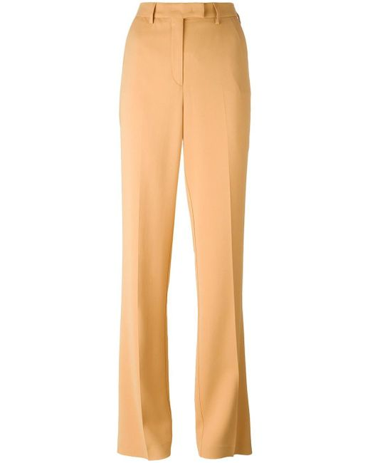 Etro | Natural Straight Trousers | Lyst