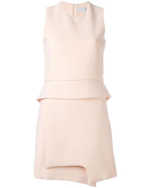 Carven | Natural Asymmetric Dress | Lyst
