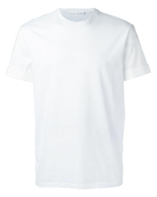 Neil Barrett | White Round Neck T-shirt for Men | Lyst