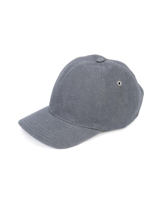 a p c plain baseball cap in gray for lyst