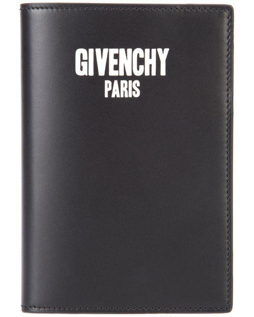 Givenchy | Black Passport Holder for Men | Lyst