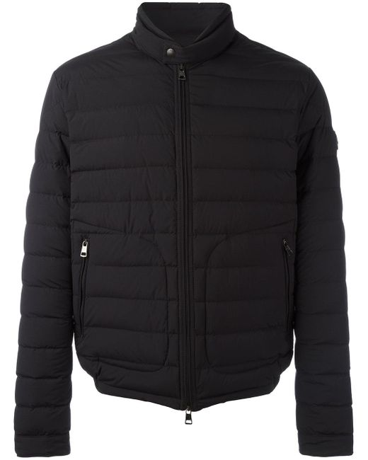 Moncler | Black Delabost Padded Jacket for Men | Lyst