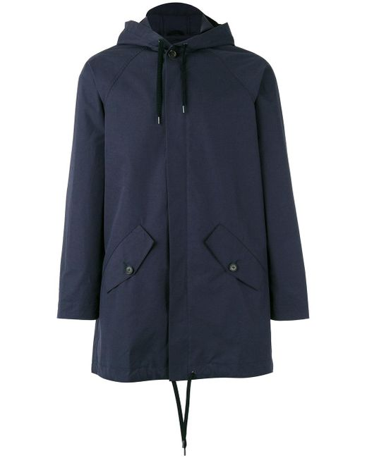 A Kind Of Guise   Blue Drawstring Hooded Jacket for Men   Lyst