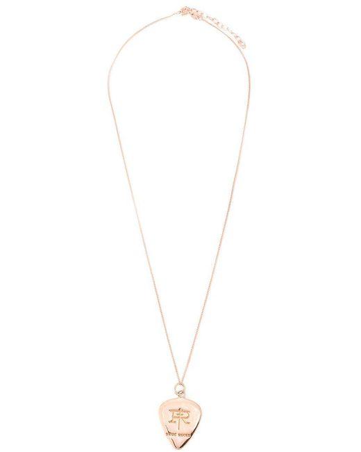 True Rocks - Pink 'plectrum' Necklace - Lyst