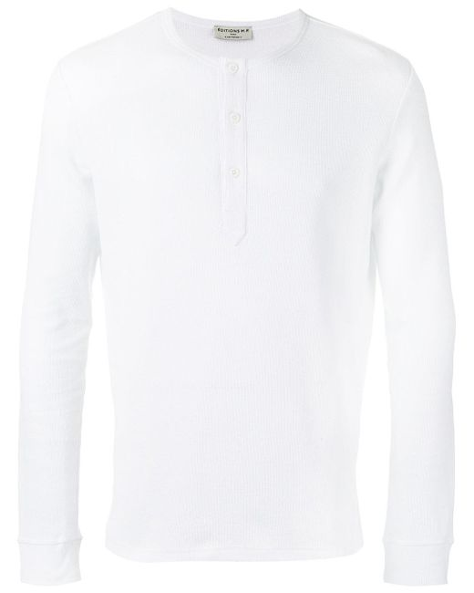 Éditions MR | White Tunisian T-shirt for Men | Lyst