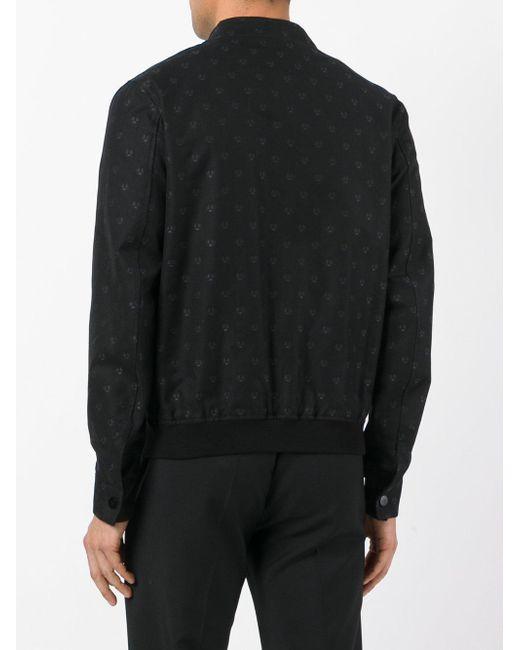 Fendi - Embroidered Bomber Jacket - Men - Cotton