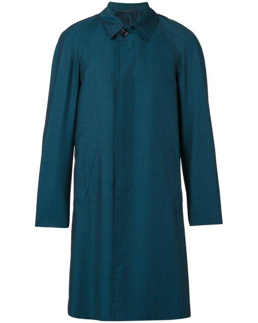 Pal Zileri | Green Button-down Coat for Men | Lyst