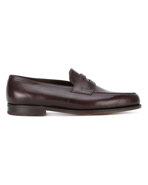 John Lobb   Brown Classic Loafers for Men   Lyst