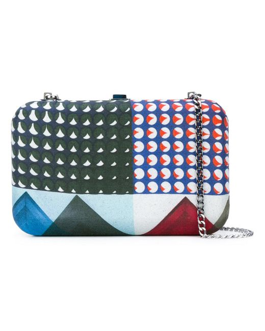 Faliero Sarti | Multicolor Love U Clutch Bag | Lyst