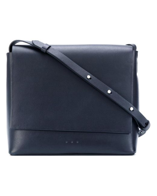 Aesther Ekme | Blue Flat Flap Shoulder Bag | Lyst