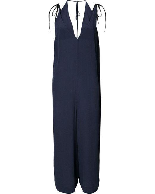 Osklen   Blue Loose-fit Jumpsuit   Lyst