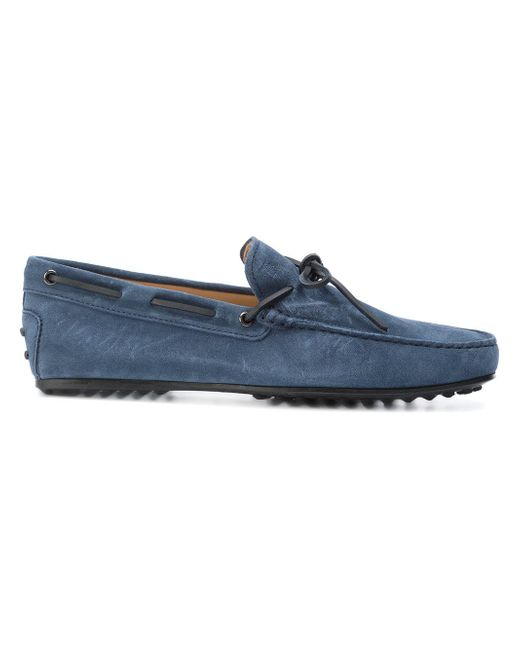 Tod's | Blue Gomini Loafers for Men | Lyst