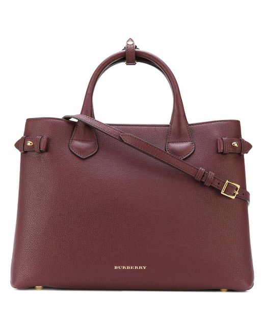 Burberry | Red House Check Tote Bag | Lyst