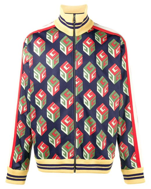 Gucci | Multicolor 'wallpaper' Technical Jacket for Men | Lyst