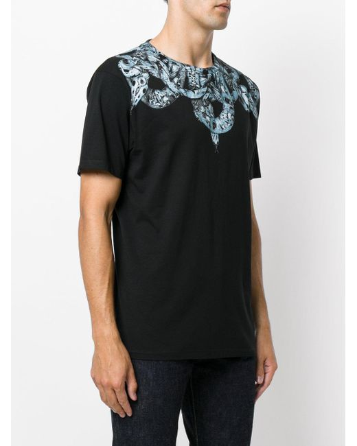 Marcelo burlon Ke T-shirt in Black for Men | Lyst