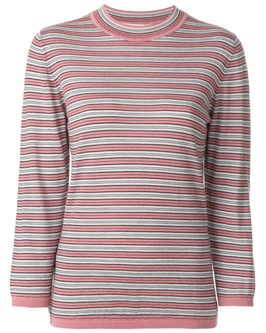 Marni | Multicolor Knitted Striped Top | Lyst