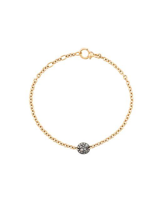 Pomellato | Metallic Sabbia Brown Diamond & 18k Rose Gold Thin Bracelet | Lyst