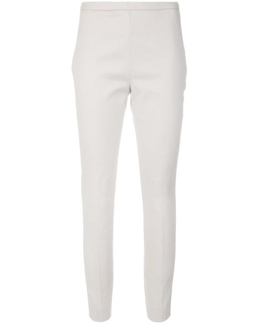 Dorothee Schumacher | Natural Tailored Cropped Trousers | Lyst