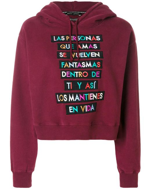 Each x Other | Multicolor Embroidered Hoodie | Lyst