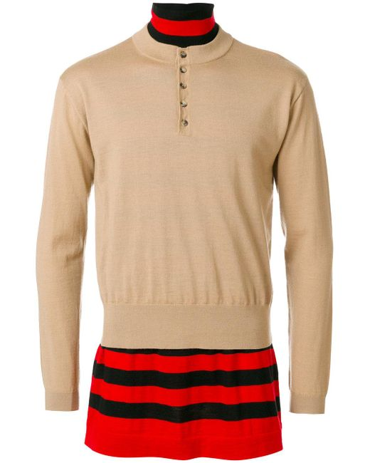 J.W. Anderson   Brown Double Layer Jumper for Men   Lyst