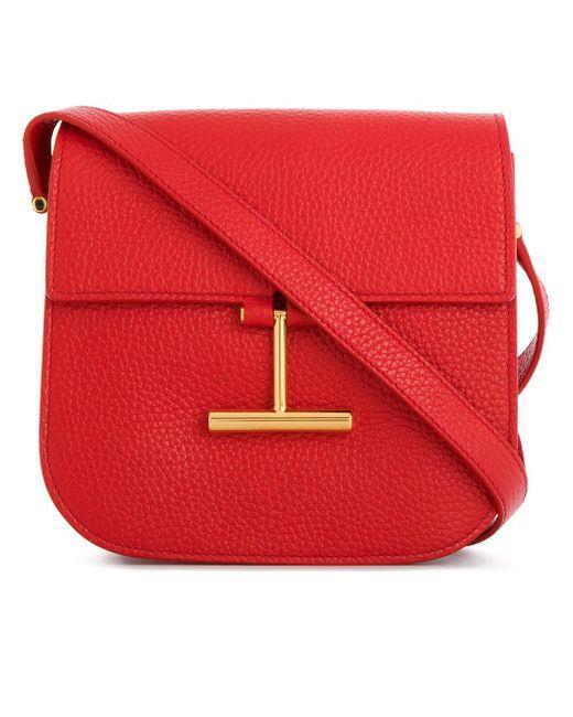 Tom Ford   Red Mini Tara Crossbody Bag   Lyst
