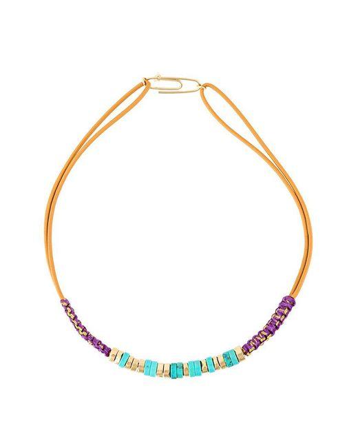Aurelie Bidermann - Blue 'takayama' Necklace - Lyst