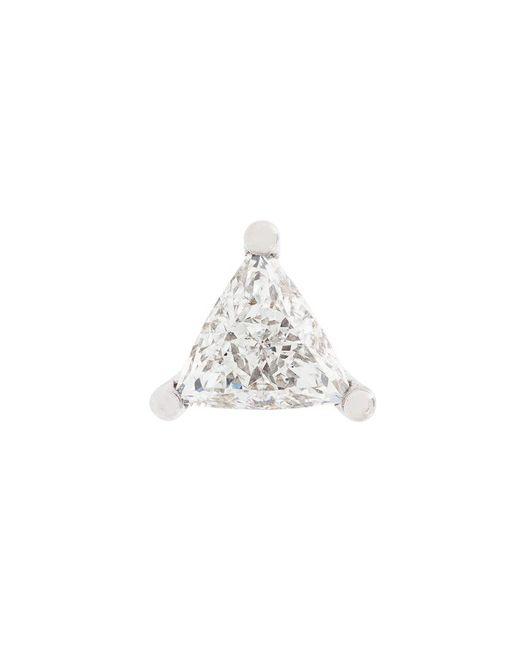 Delfina Delettrez - Metallic Dots Solitaire Diamond Earring - Lyst