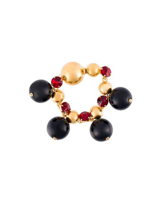 Marni - Black Sphere Bracelet - Lyst
