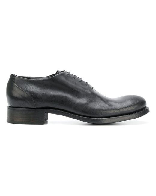 Dimissianos & Miller - Black Derby-Schuhe for Men - Lyst