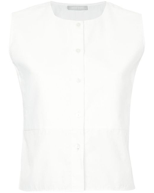 White Story - White Ada Top - Lyst