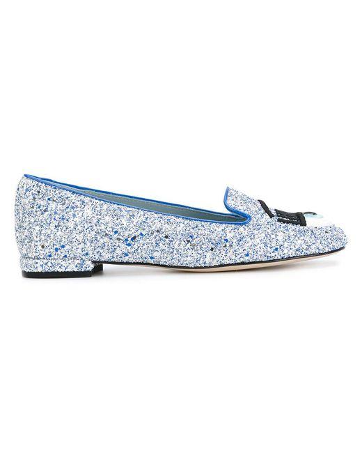 Chiara Ferragni   Blue Flirting Ballerinas   Lyst