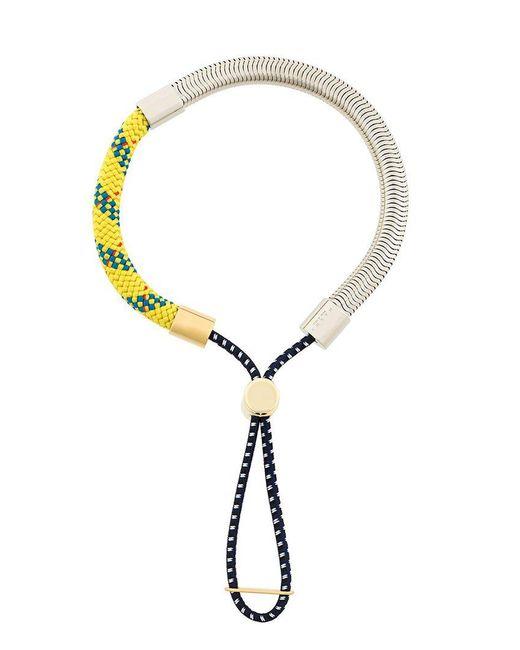 Marni | Metallic Bungee Cord Bracelet | Lyst