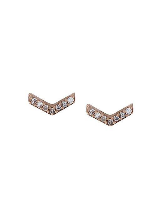 Astley Clarke - Metallic 'varro Honeycomb' Diamond Stud Earrings - Lyst