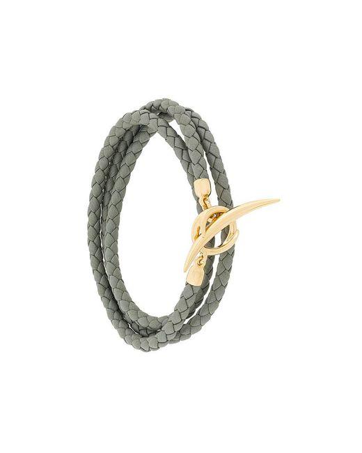 Shaun Leane - Gray Quill Wrap Bracelet - Lyst