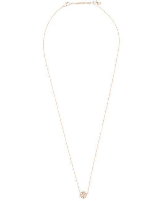 Astley Clarke Icon diamond pendant necklace - Metallic QKVOGy8m