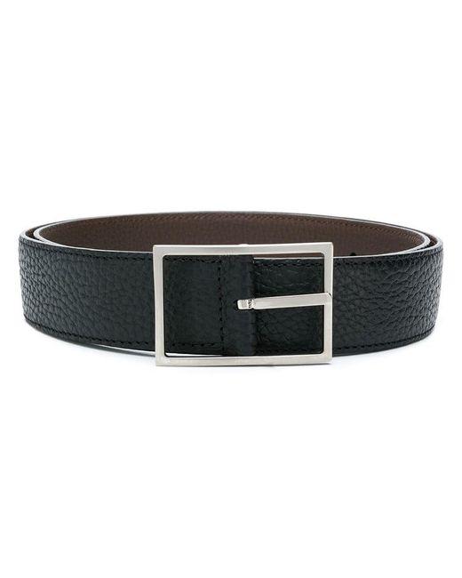 Simonnot Godard - Brown Square Buckle Belt for Men - Lyst