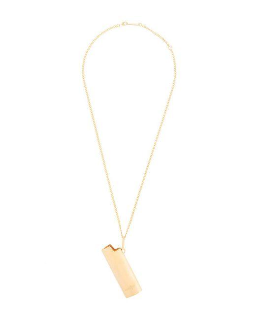 Ambush - Metallic Lighter Pendant Necklace for Men - Lyst