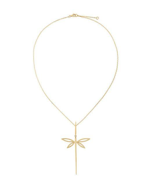Anapsara - Metallic 'dragonfly' Necklace - Lyst