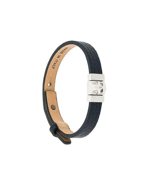Northskull - Blue Atticus Skull Bracelet for Men - Lyst