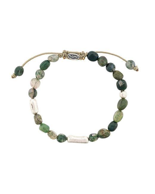 M. Cohen - Green Stone Beads Bracelet - Lyst