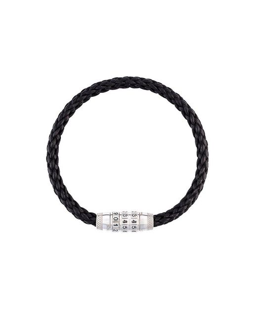 Tateossian - Black Braided Bracelet for Men - Lyst