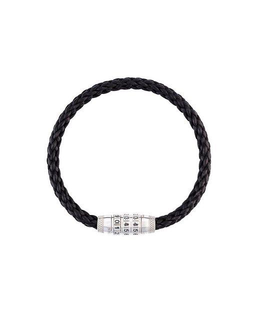 Tateossian | Black Braided Bracelet for Men | Lyst