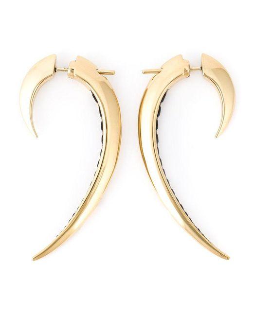 Shaun Leane | Metallic 'signature Tusk' Spinel Earrings | Lyst