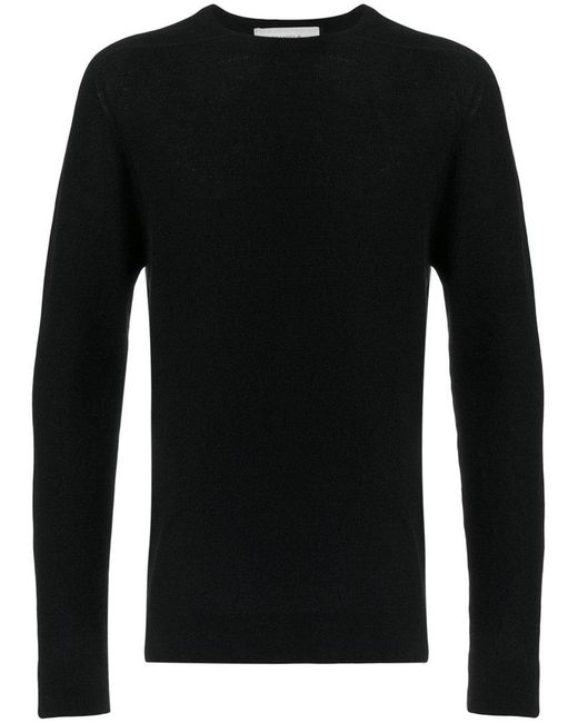 Pringle of Scotland - Black Saddle Shoulder Jumper for Men - Lyst
